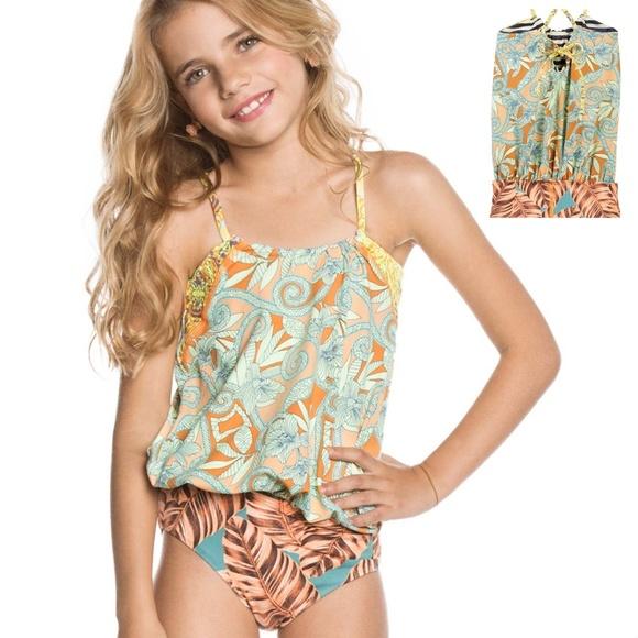 5aba6cc27af Maaji Other - Maaji KIDS Honey Mee One-Piece Swim Suit